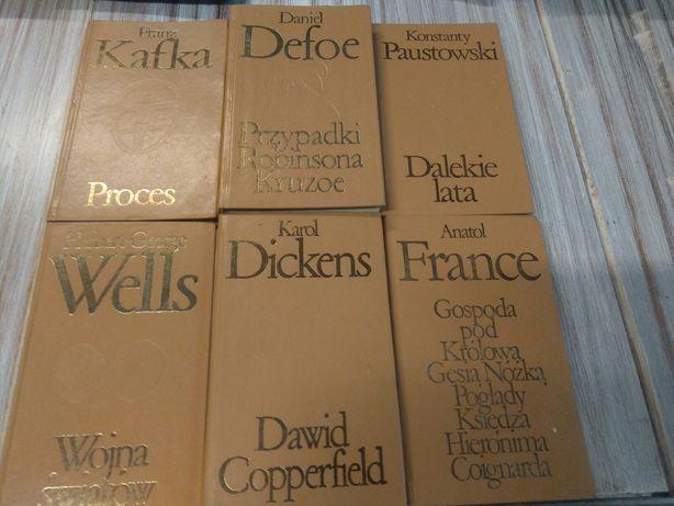 Książki kolekcja 6 sztuk.
