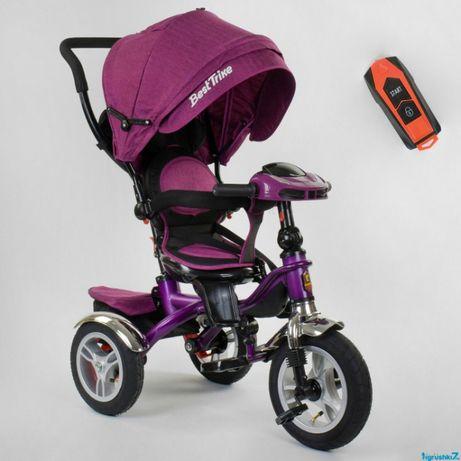 Детский трехколесный велосипед BEST TRIKE 5890 (поворот, музыка)
