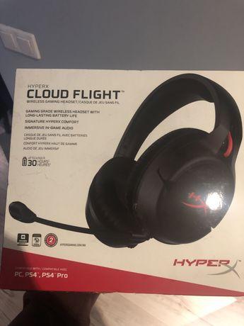 HyperX Cloud Flight słuchawki bezprzewodowe dla gracza gamingowe
