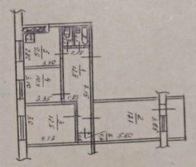 Продам 3-к квартиру под коммерцию на Левобережный-2, ул. Богомаза Днепр - изображение 1
