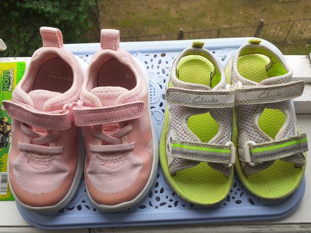 Clarks кросівки та босоніжки 22 розмір Босоножки Кроссовки