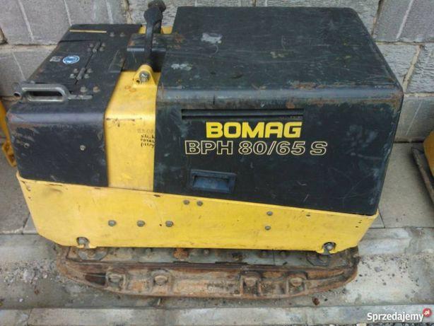 Bomag 80-65 S + pilot - zagęszczarka 800 kg jak Wacker 800kg