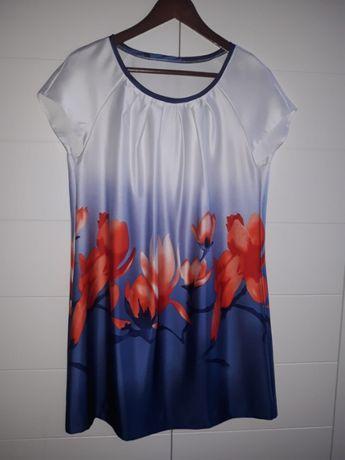 Sukienka w kwiaty, r. S/M