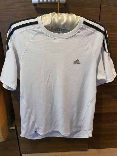 Biała Koszulka T Shirt Adidas Męska ORYGINALNA Rozmiar M Jak Nowa !