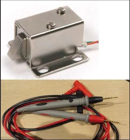 Магнитный замок защелка электромеханическая 12в щупы для мультиметра