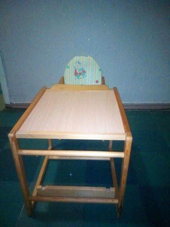 Продам детский стульчик(трансформер)