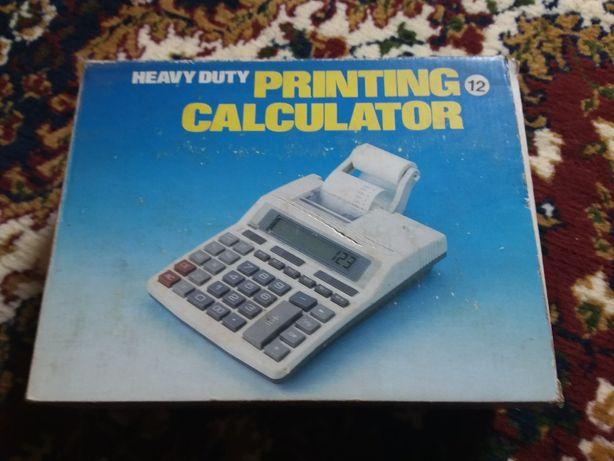 Принтерный калькулятор.