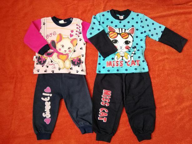 Спортивний костюм для дівчинки 86-92см