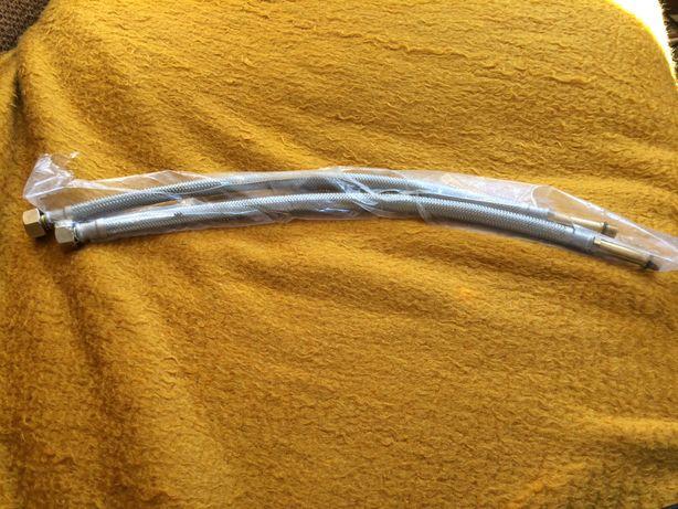 FERRO Komplet 2 wężyków do baterii zlewozmywakowej nowe oryginalne