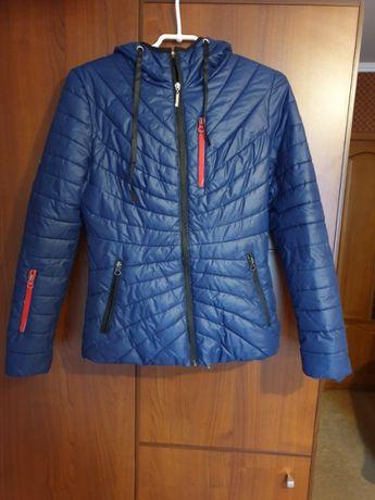 Куртка Подросток синяя куртка.