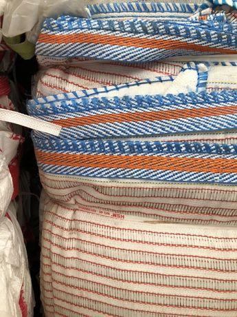 Worki typu big bag bagi begi wentylowane raszlowe z siatką 87/78/152