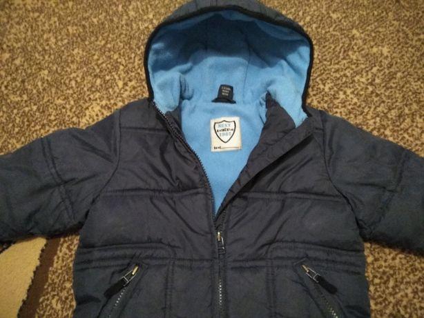 Детская куртка Next, курточка, парка, флиска демисезонная, весна-осень