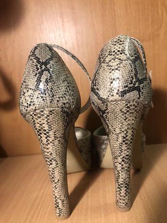 Туфли одеты пару паз