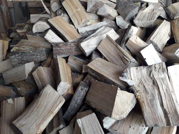 Drewno opałowe: dąb suchy, brzoza, sosna suche do kominka i centralneg
