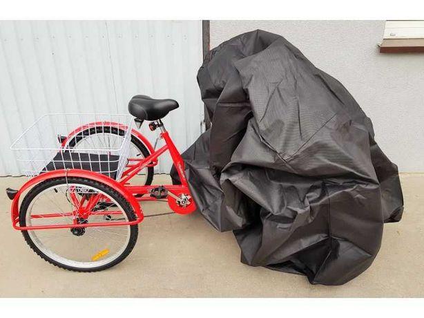 Nowy pokrowiec na rower trójkołowy 200x120x110 (DŁxSZERxWYS)