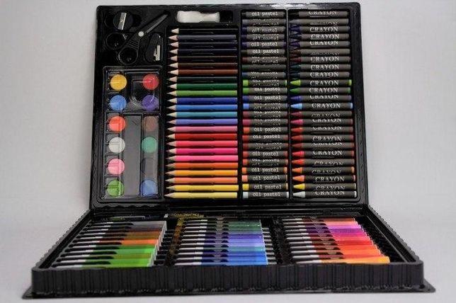 Художественный набор для творчества 150 предметов в удобном чемодане