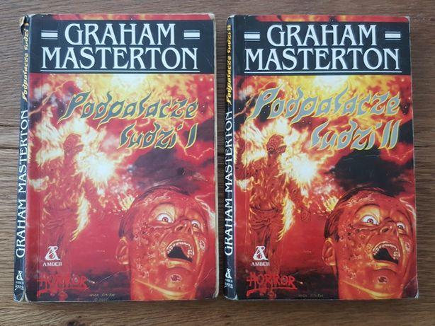 Komplet 2 tomy, Horror - Podpalacze ludzi - Graham Masterton