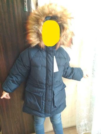 Куртка Reserved Пальто демисезонная для девочки деми