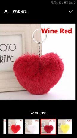 Brelok serce dla ukochanej osoby lub przyjaciół breloczek puszek