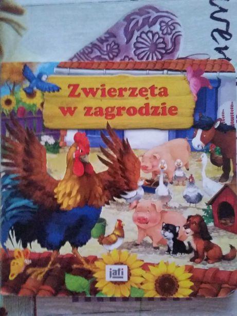 Zwierzęta w zagrodzie książka dla dzieci