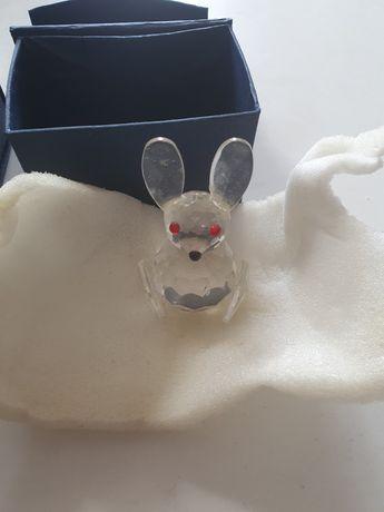 Miniatura de coelhos em vidro