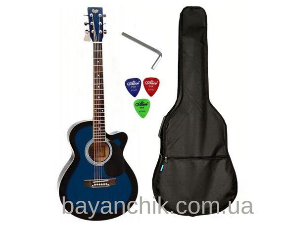 Набор акустическая гитара Bandes AG-831C RD 38+ чехол