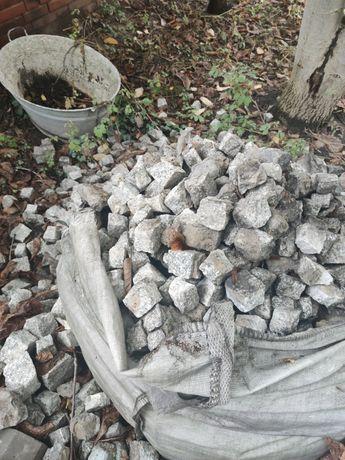 Kostka granitowa 6x6cm