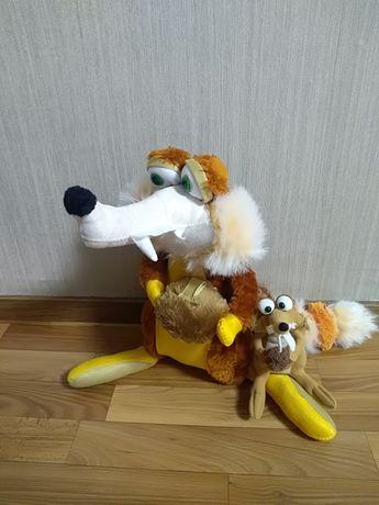 М'яка іграшка білка 35 см