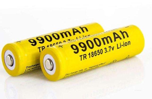Pilhas recarregáveis 18650 - Baterias para lanternas e box para pilhas