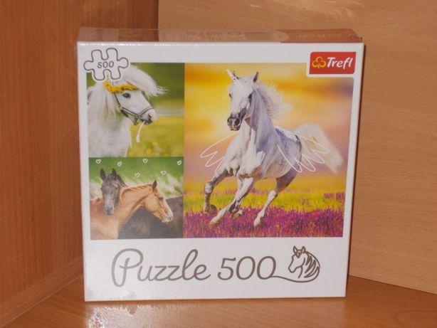 Puzzle Trefl 500 elementów najnowsza edycja