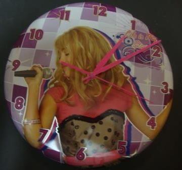 Relógio de Parede Hannah Montana
