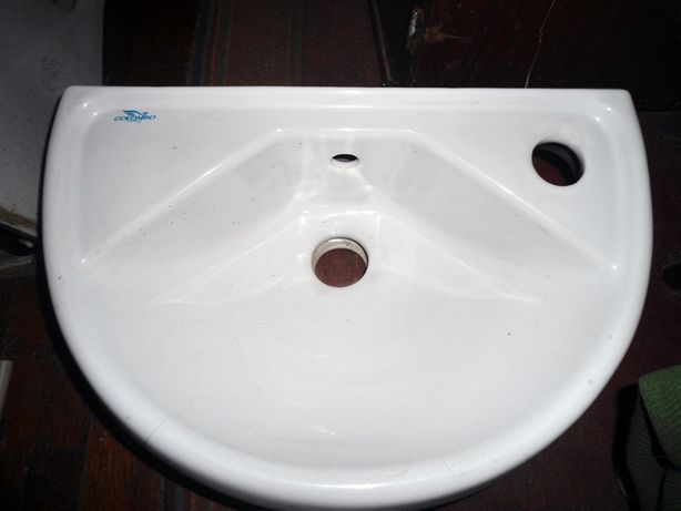 Умывальник - малютка Colombo 39,5х25,5 см, белый, керамика