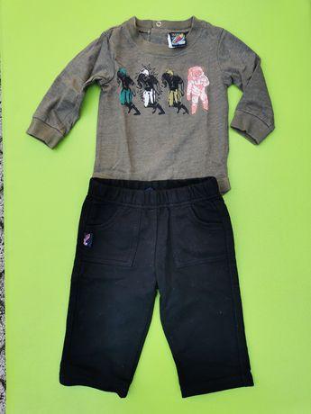 Body i spodnie komplet r. 68