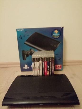 PS3 12GB plus 9gier