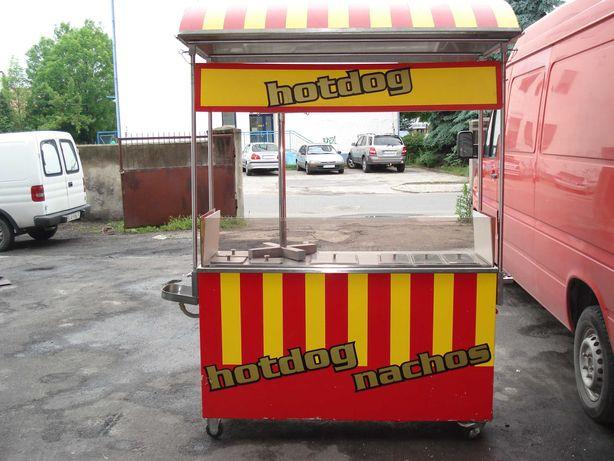 Wózek gazowy do hot dogów