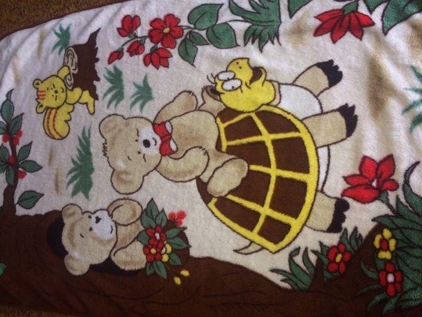 Плед детский детское одеяло