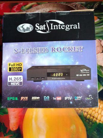 Продам тюнер SAT INTEGRAL S-1412 HD ROK KET