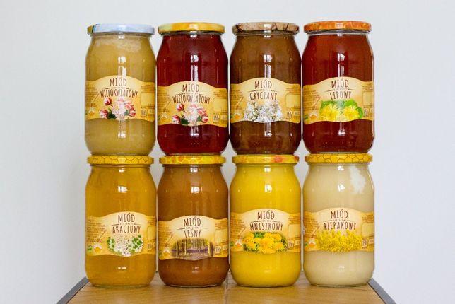 Miód pszczeli hurt / faktura vat