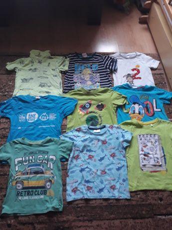 Ubrania dla chłopca w rozmiarze 98