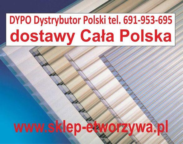 Poliwęglan komorowy zadaszenie taras pergola 4,6,8,10,16,20,25,32mm