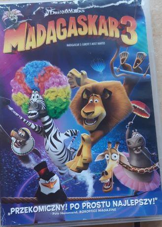Madagaskar 3 - płyta DVD