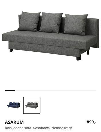 Rozkładana sofa 3-osobowa IKEA