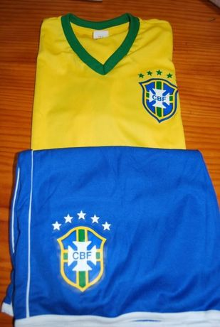 Equipamento da Confederação Brasileira de Futebol novo 10 anos