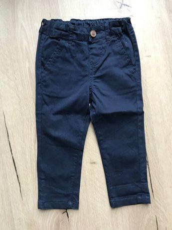 Spodnie chłopięce chinos r.86