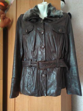 Куртка натуральная кожаная