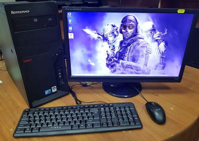Игровой компьютер GTX550ti/4ядра INTEL/4gbDDR3/GTA5/CSGO/WoT/DOTA
