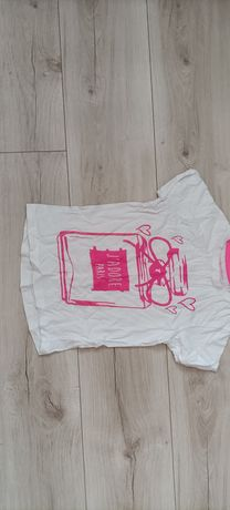 Biały T-shirt dziecięcy