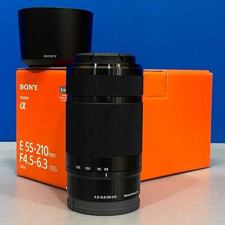Sony E 55-210mm f/4.5-6.3 OSS - NOVA - 2 ANOS DE GARANTIA