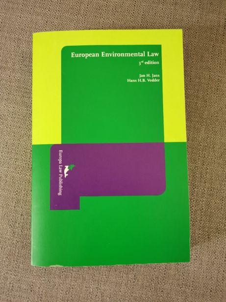 Manual de European Environmental Law / Direito Europeu do Ambiente