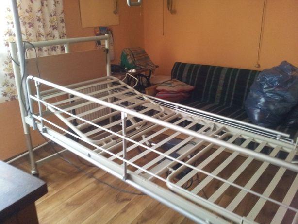 Sprzedam łóżko rehabilitacyjne i inny sprzęt.